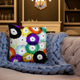 Vinyl Record Pillow