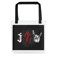 Rock And Roll Tote Bags