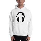 Headphones Men's Hooded Sweatshirt