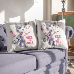 Rock And Roll Pillow Cases