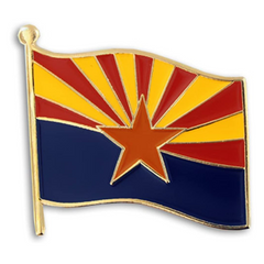 Arizona Flag Pin