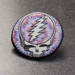 Grateful Dead Steal Your Face Button Pin