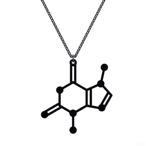 Chocolate Molecule Necklace