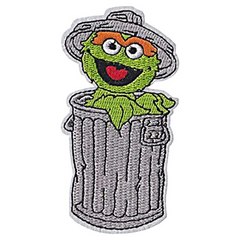 Oscar The Grouch Patch