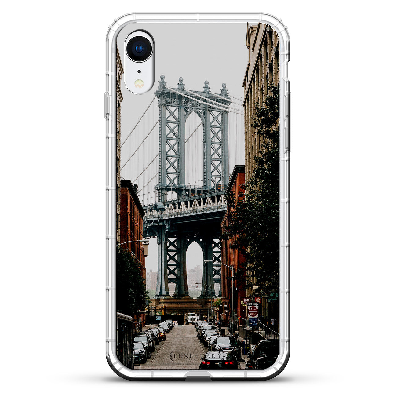 Manhattan Bridge Seethrough