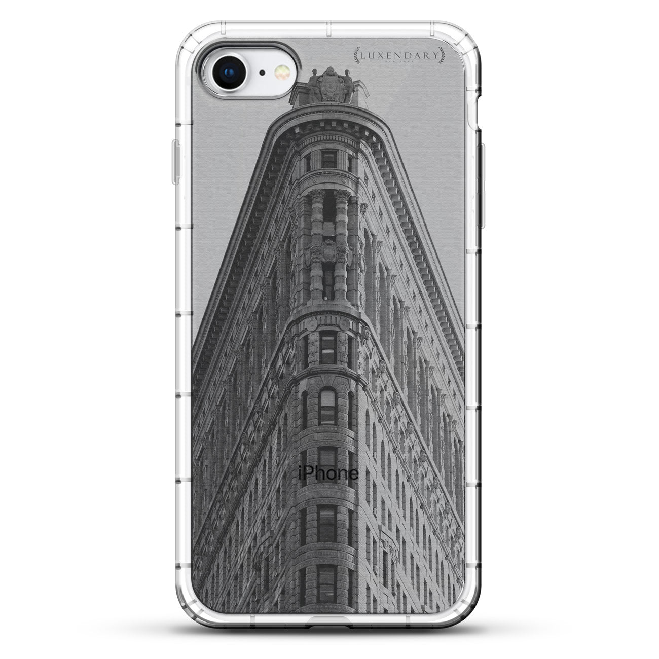 Flat Iron Building Seethrough