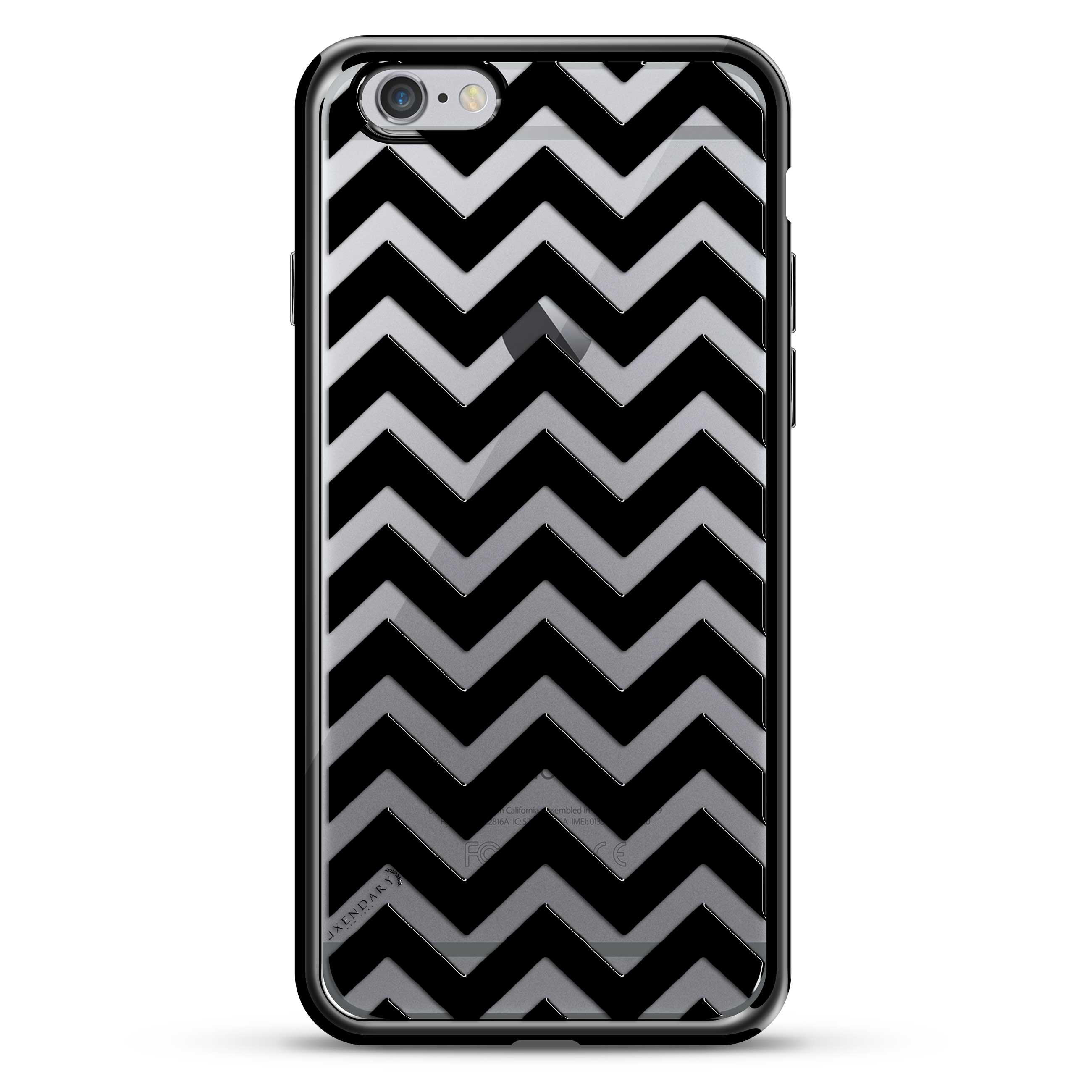 Black Horizontal Chevron