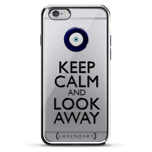 Evil Eye Keep Calm & Look Away Quote