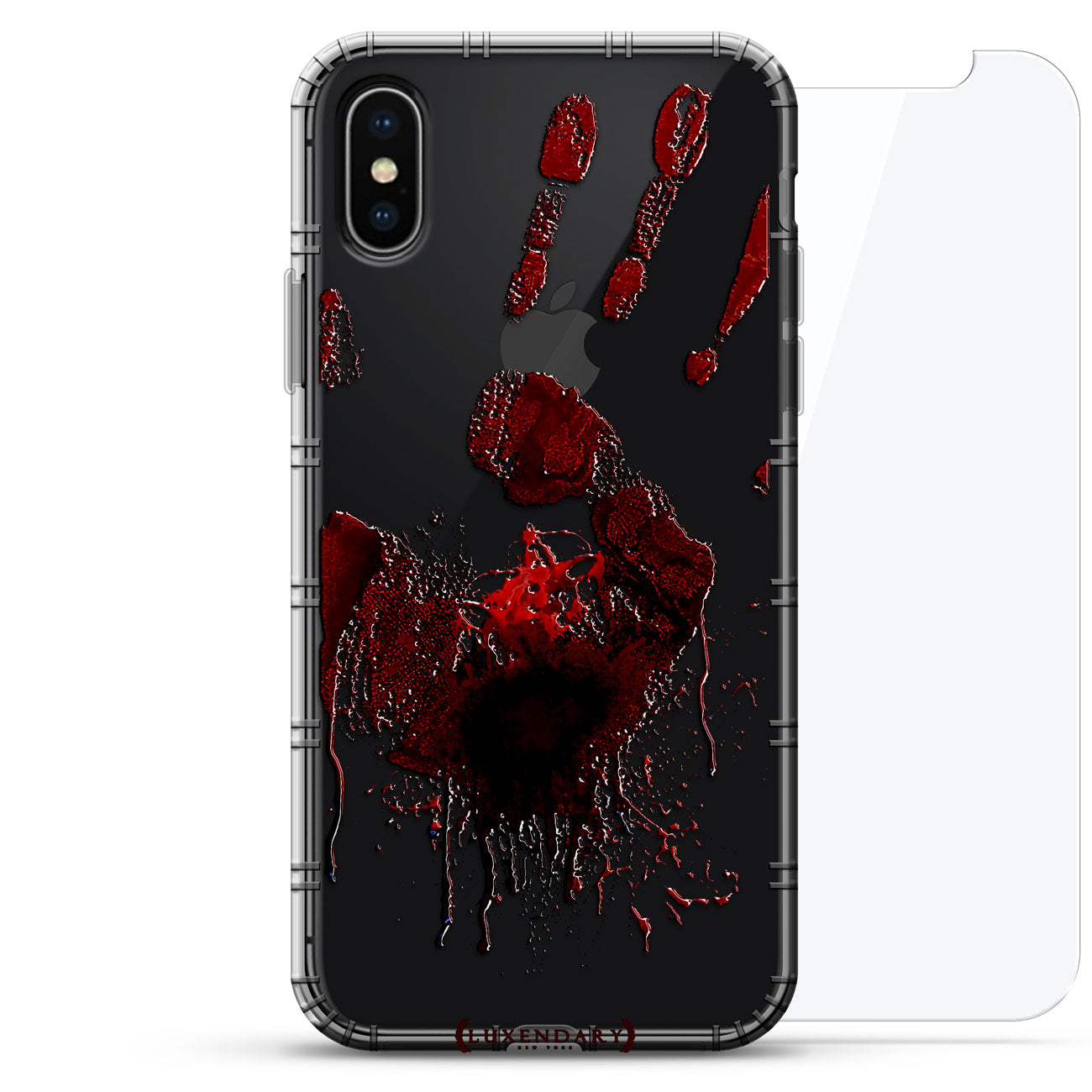 Spooky Bloody Hand Print Mark Halloween
