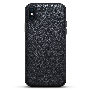 iPhone X/Xs | Black Cow Leather