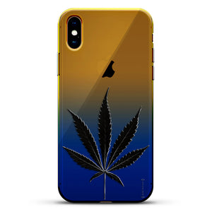 LIFESTYLE: BLACK MARIJUANA LEAF