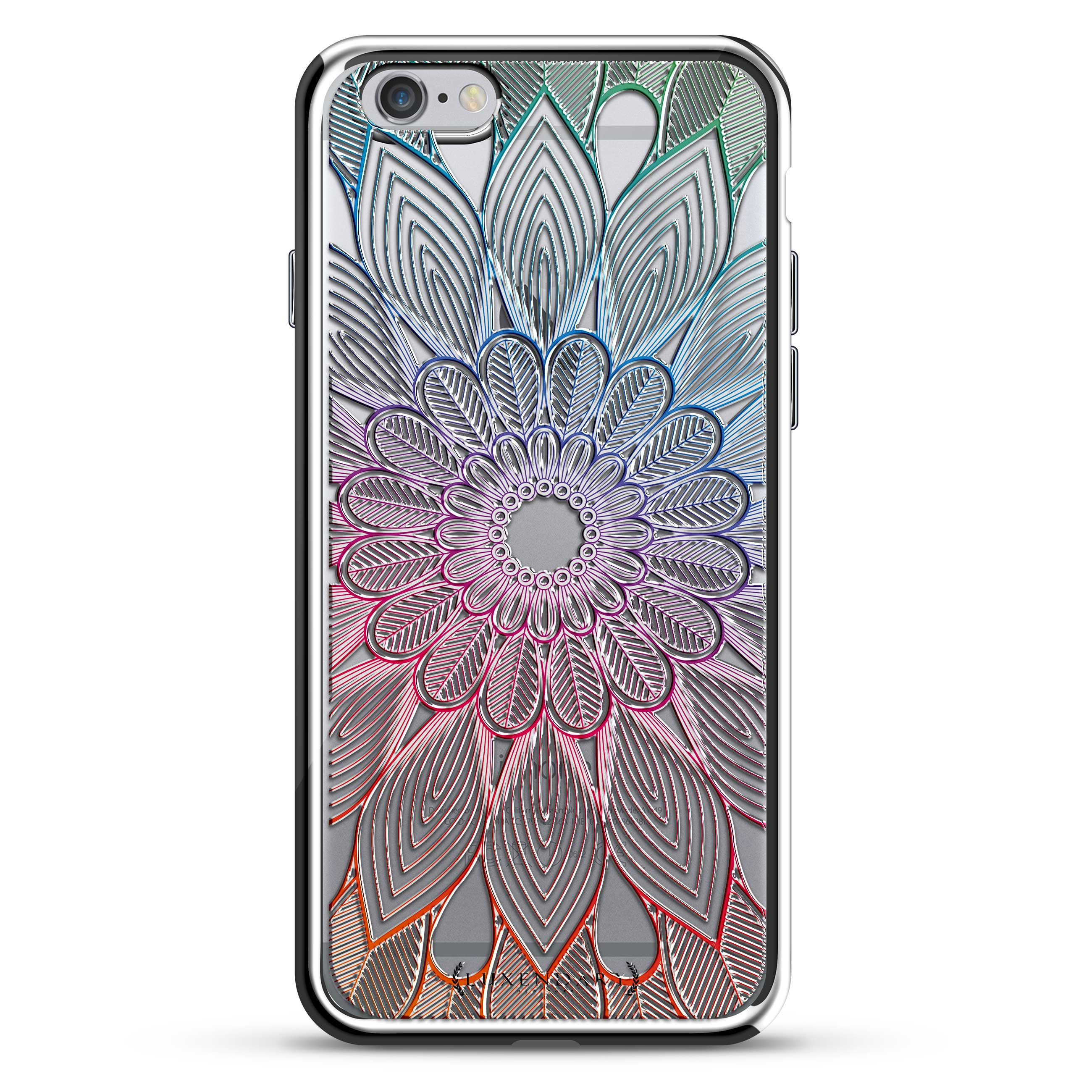 Big Colorful Flower Mandala Floral