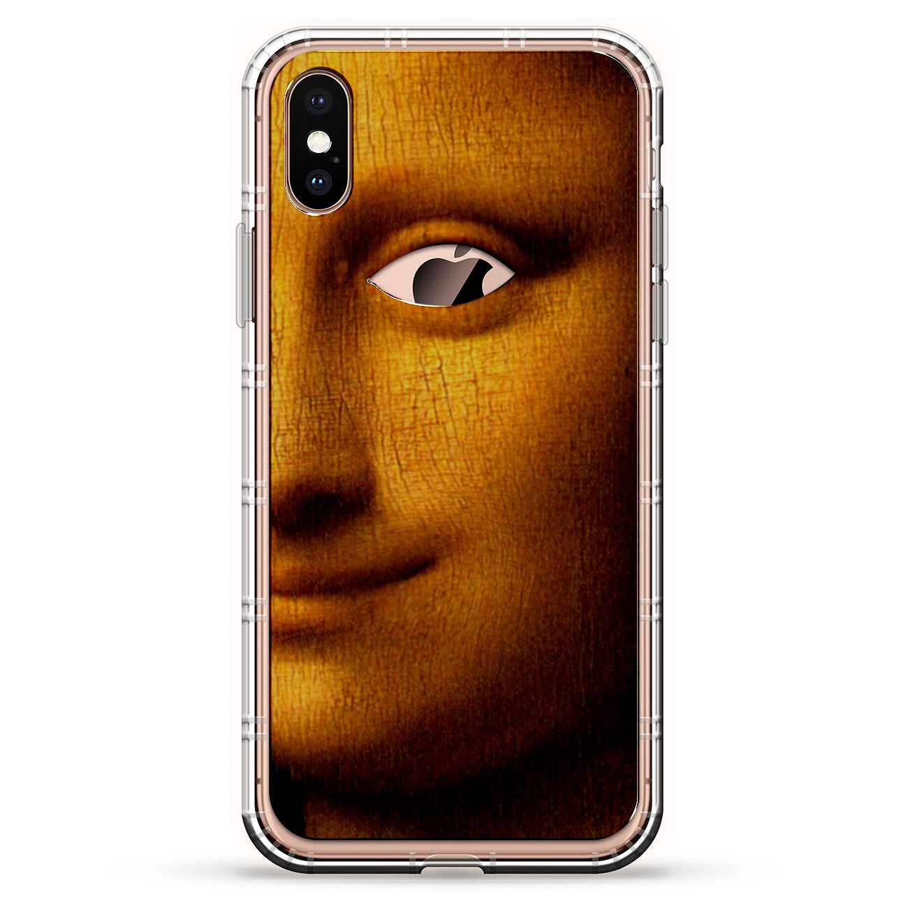 Mona Lisa With Apple Eye
