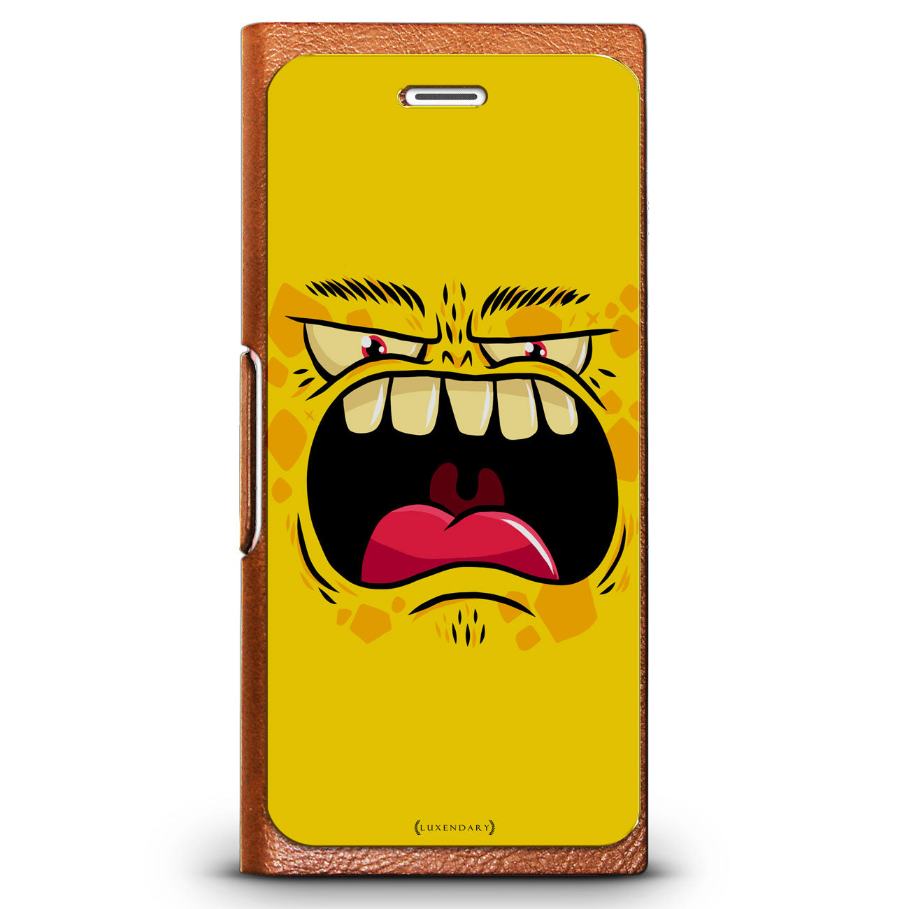 Scary Yellow Screming Monster