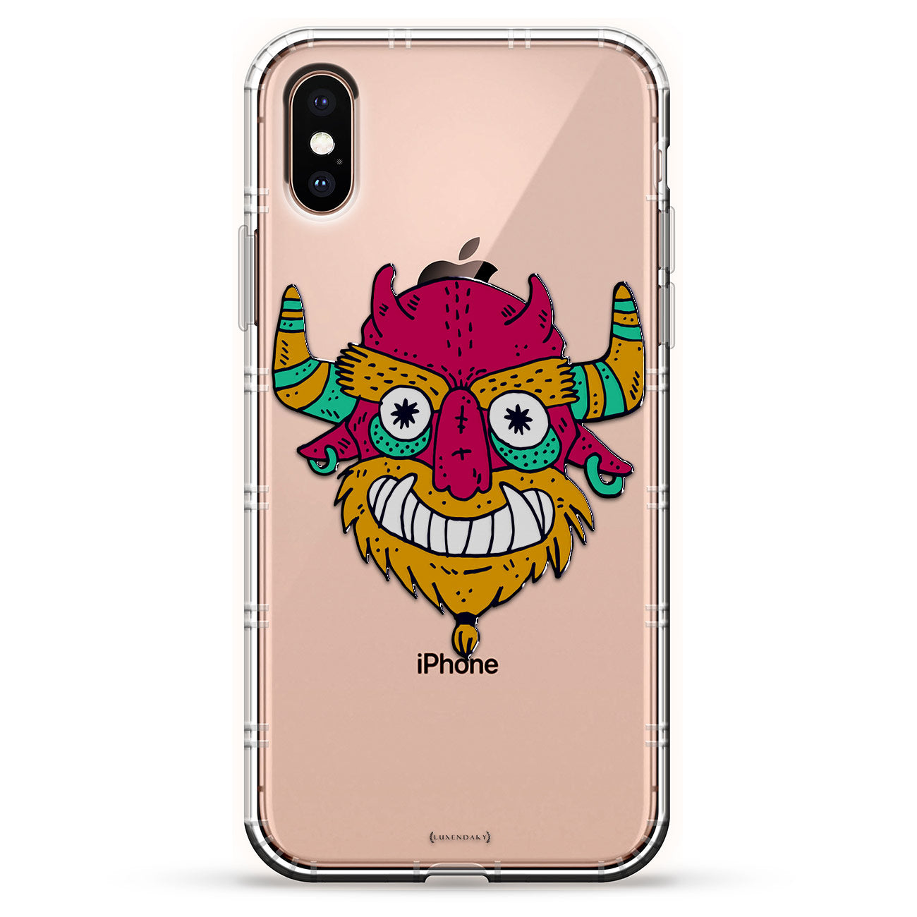 Colorful Monster With Horns