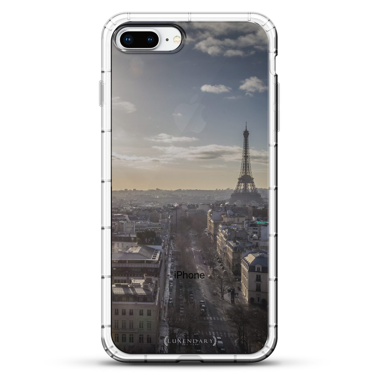 Paris Skyline Seethrough