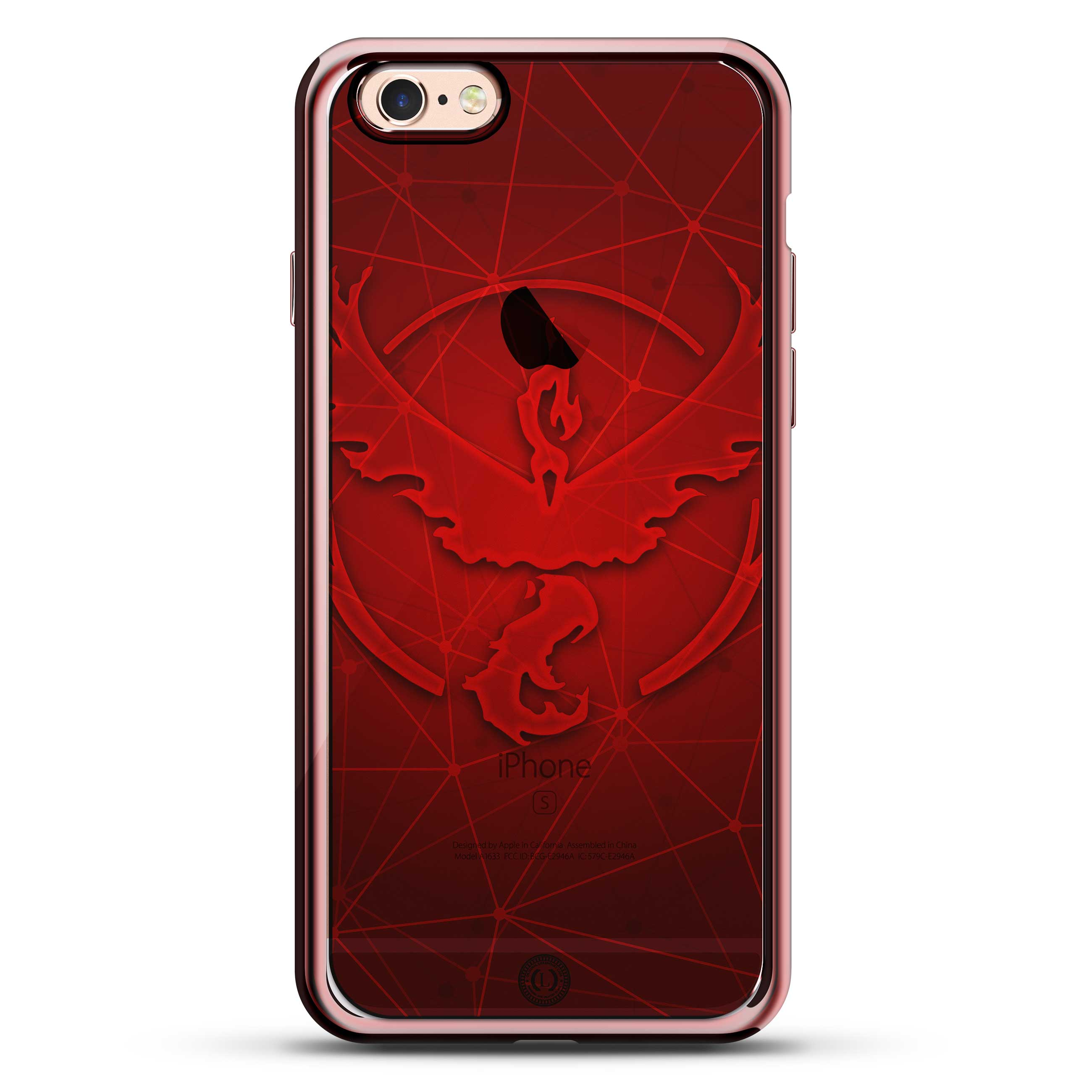 Pokemon Go Inspired Valor Red