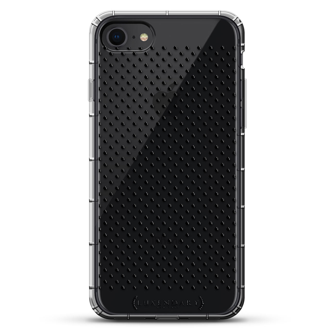 Black Centered Polka Dot Pattern