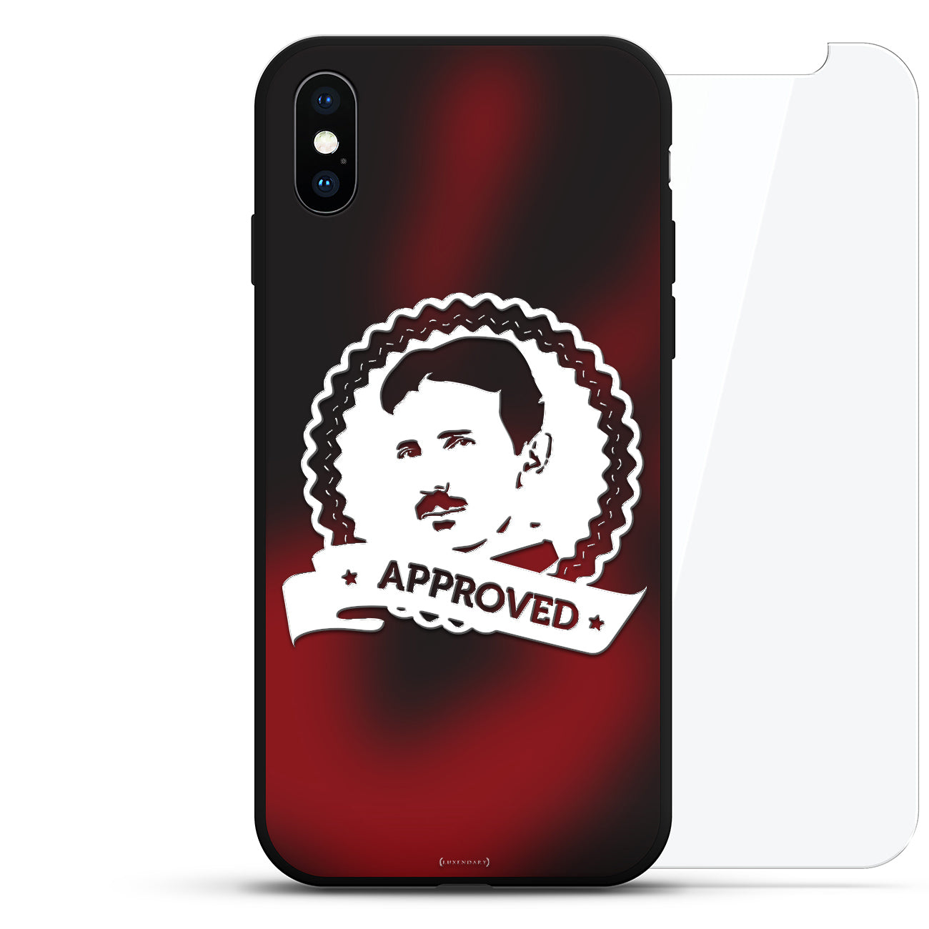 Tesla (Nikola) Approval seal, white