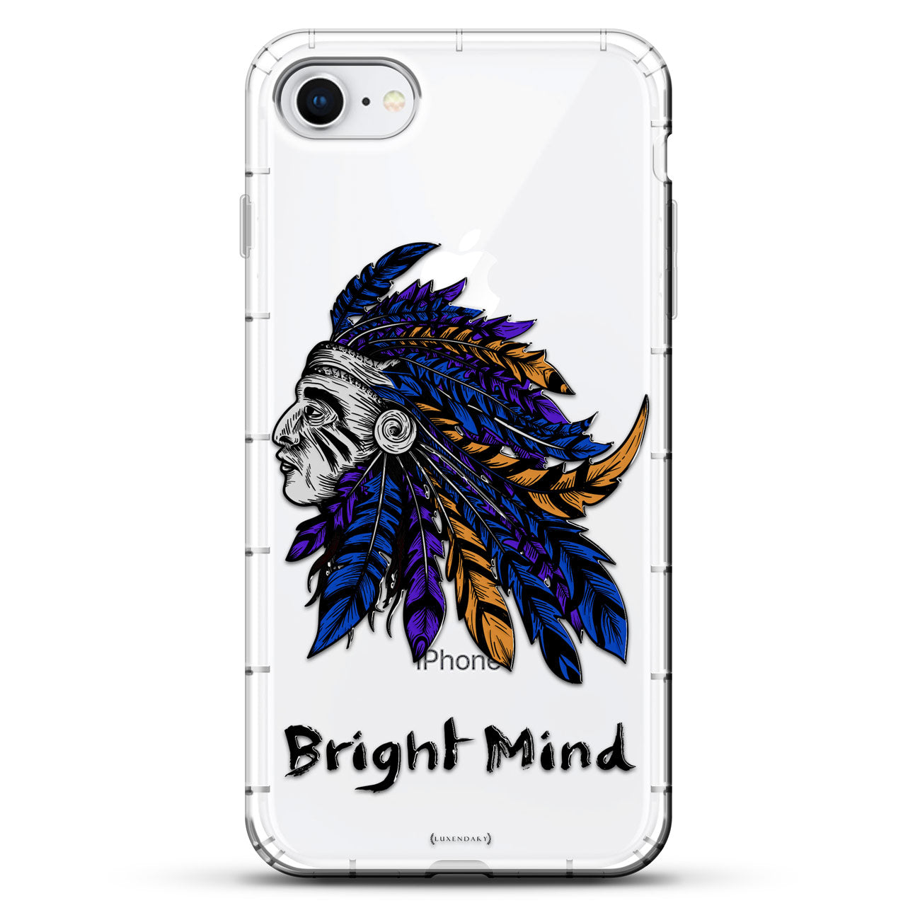 Bright Mind Tribal Indian