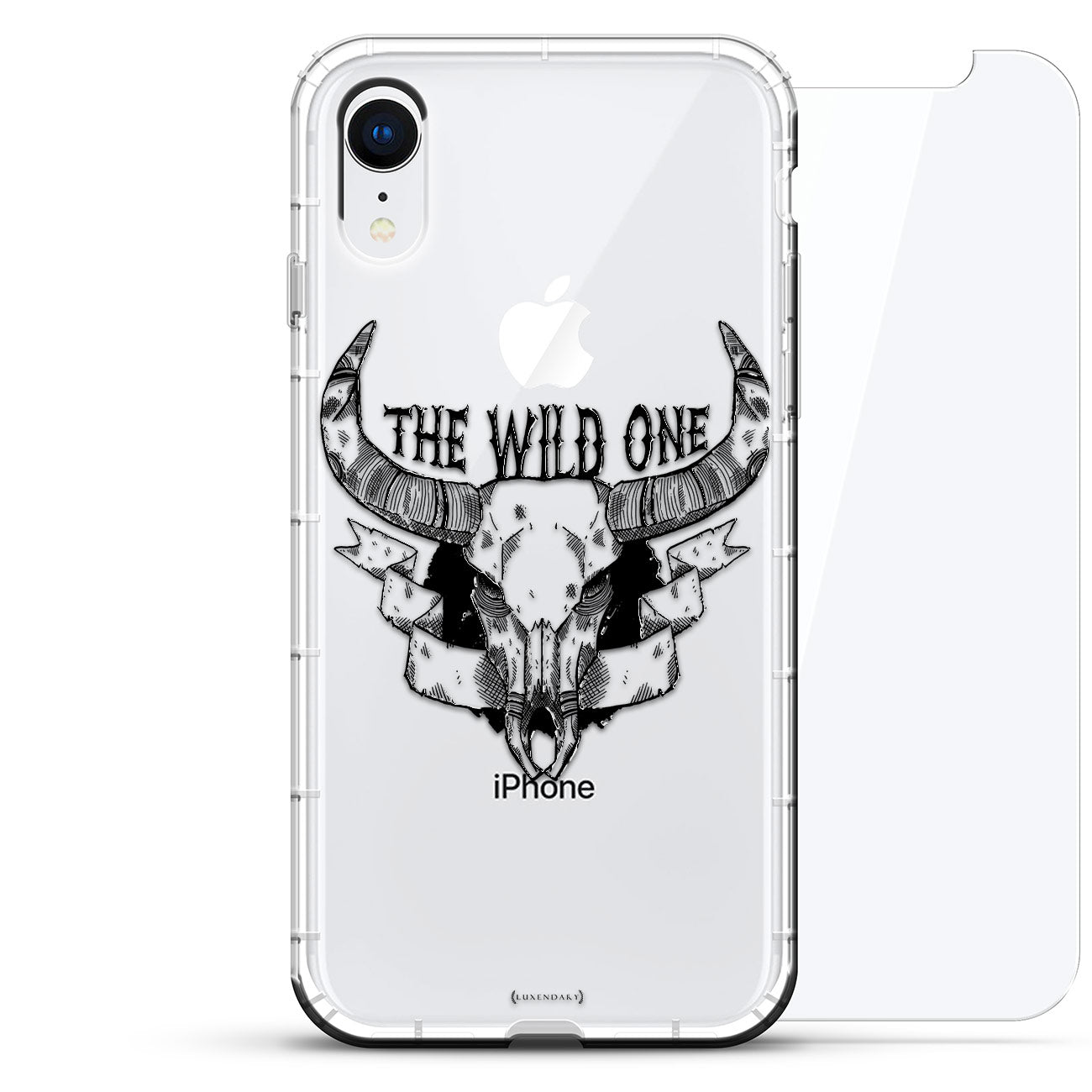 The Wild One Skull With Horns