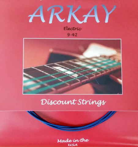 Arkay Standard Electric Guitar Strings by Aurora, 9-42