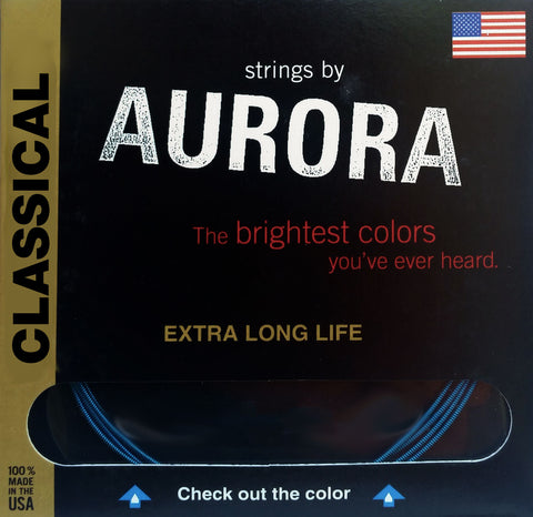 Aurora Premium Classical Guitar Strings HT, 28 | 32 | 40 | 31 | 37 | 45