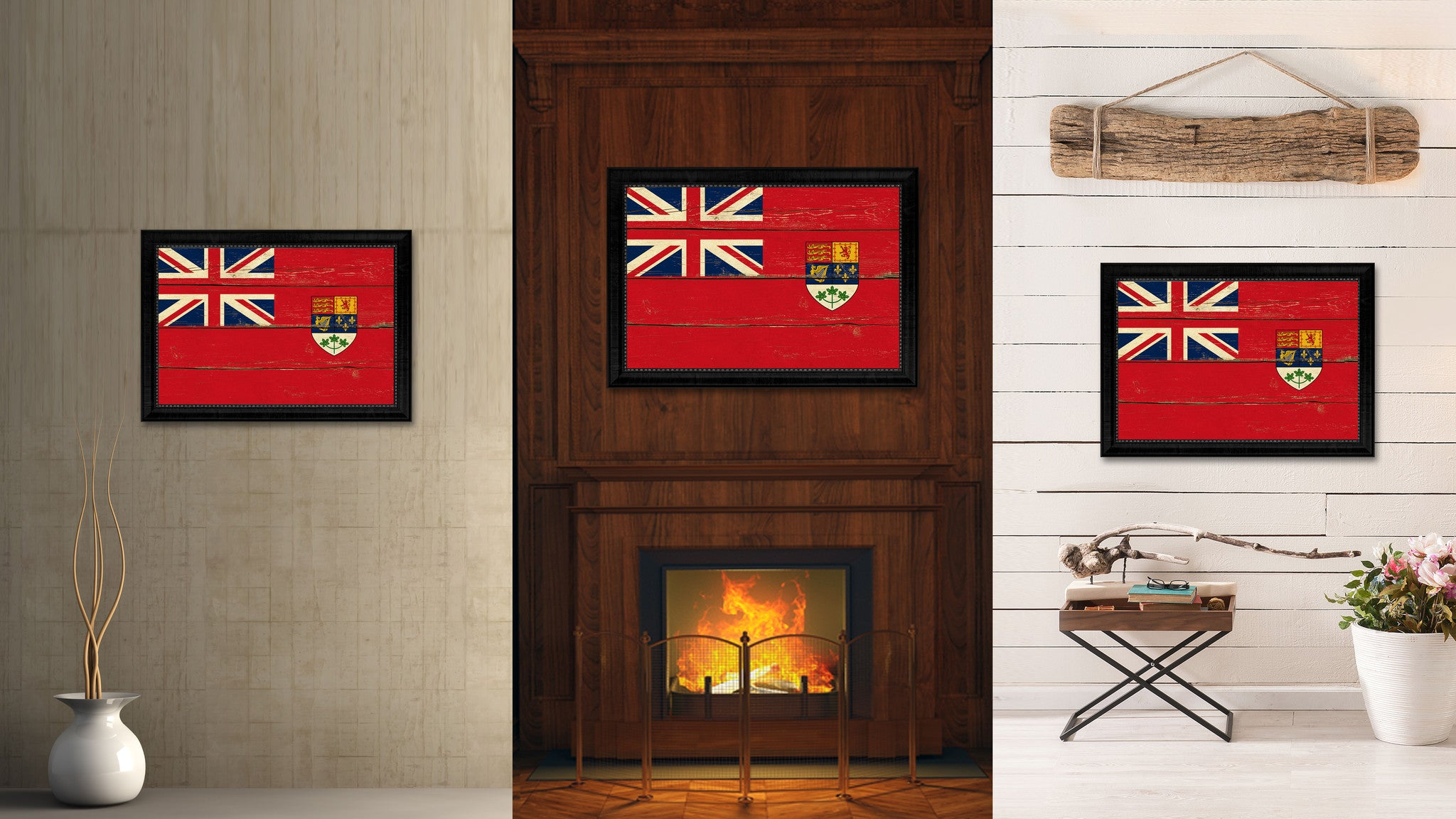 Canadian Red Ensign City Canada Country Vintage Flag Home Decor Office Wall Art Livingroom Gifts