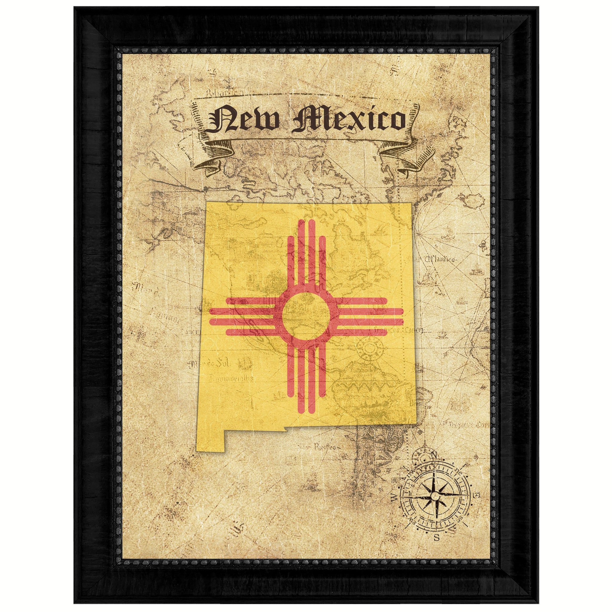 Famous New Mexico Wall Decor Illustration - All About Wallart ...