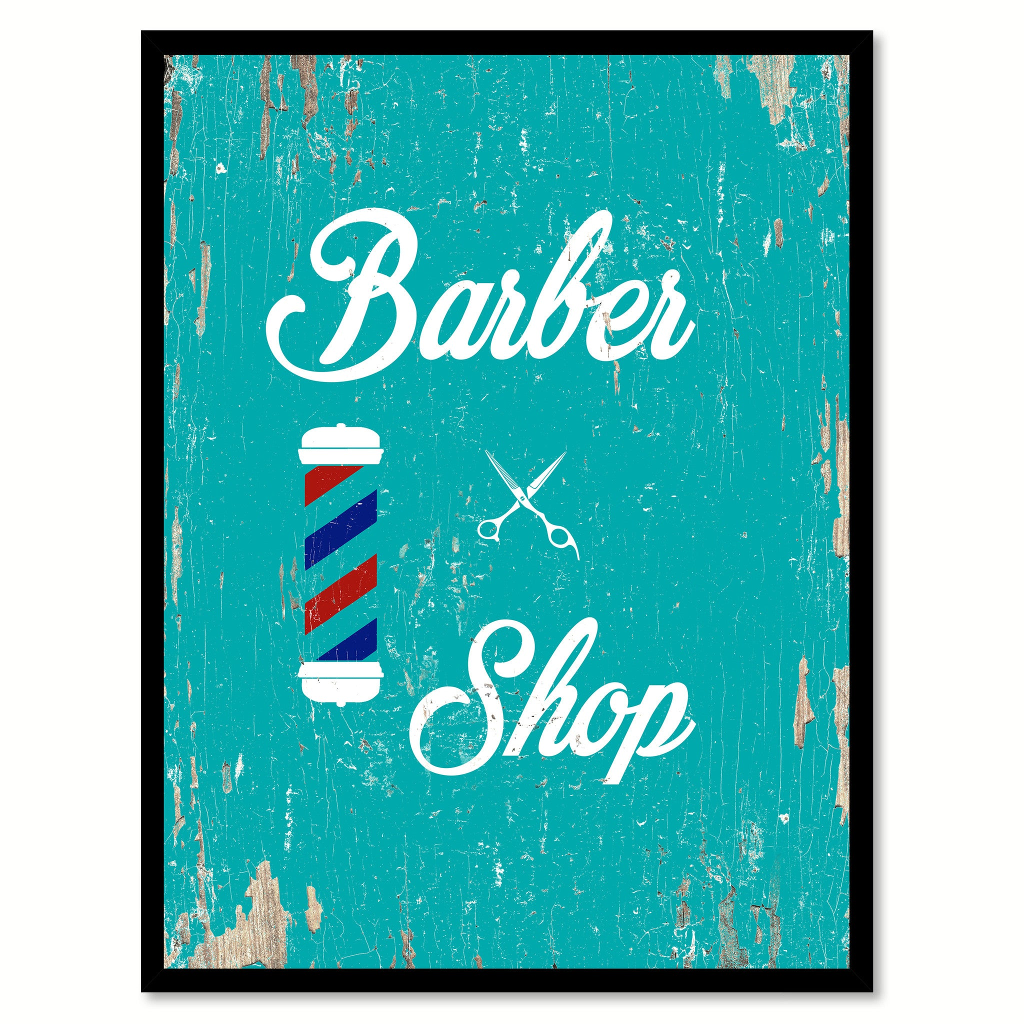 Barber Shop Quote Saying Gift Ideas Home Decor Wall Art 111459