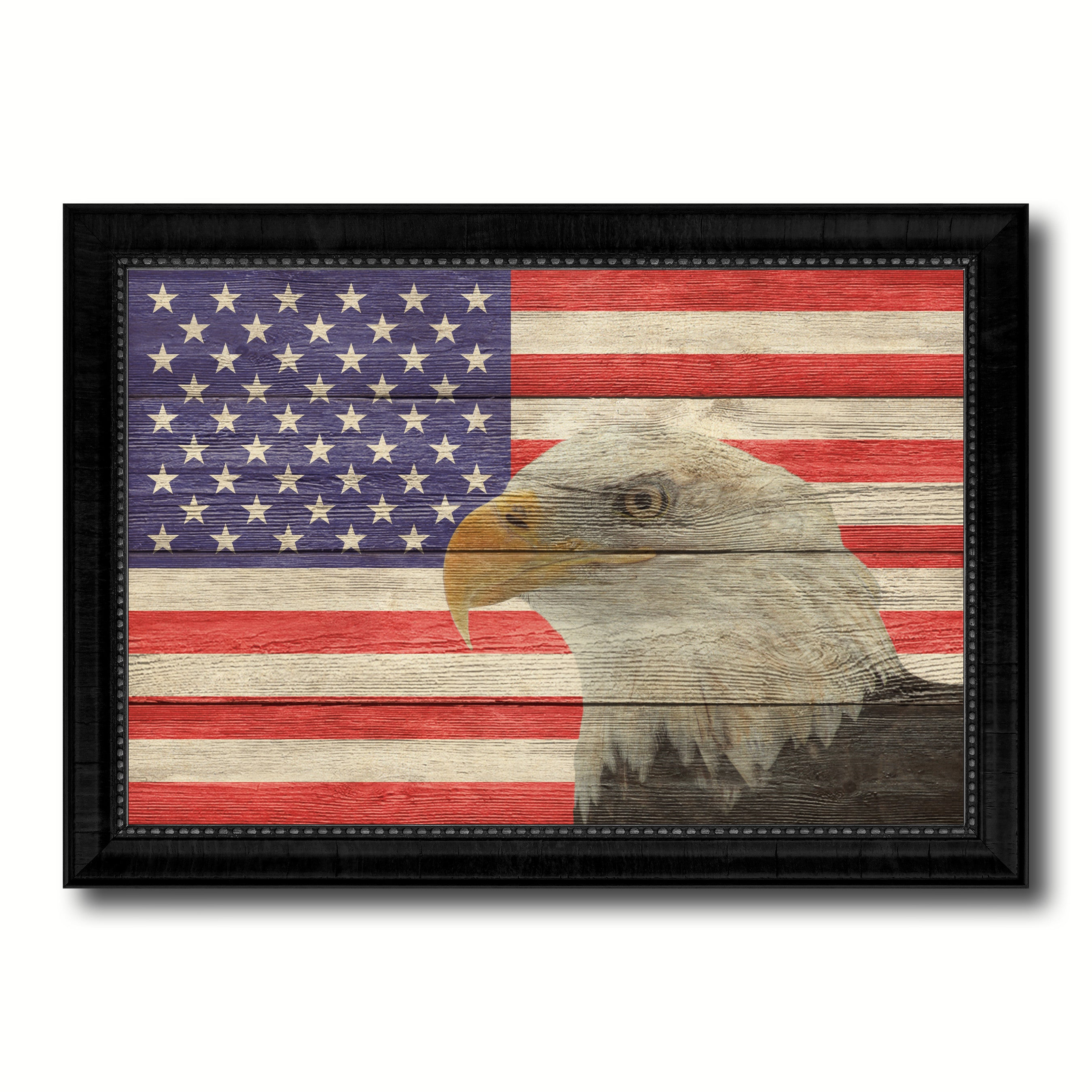 American Eagle Home Decor Office Wall Art Decoration Bedroom Livingroom Housewarming Gift Ideas SpotColorArt
