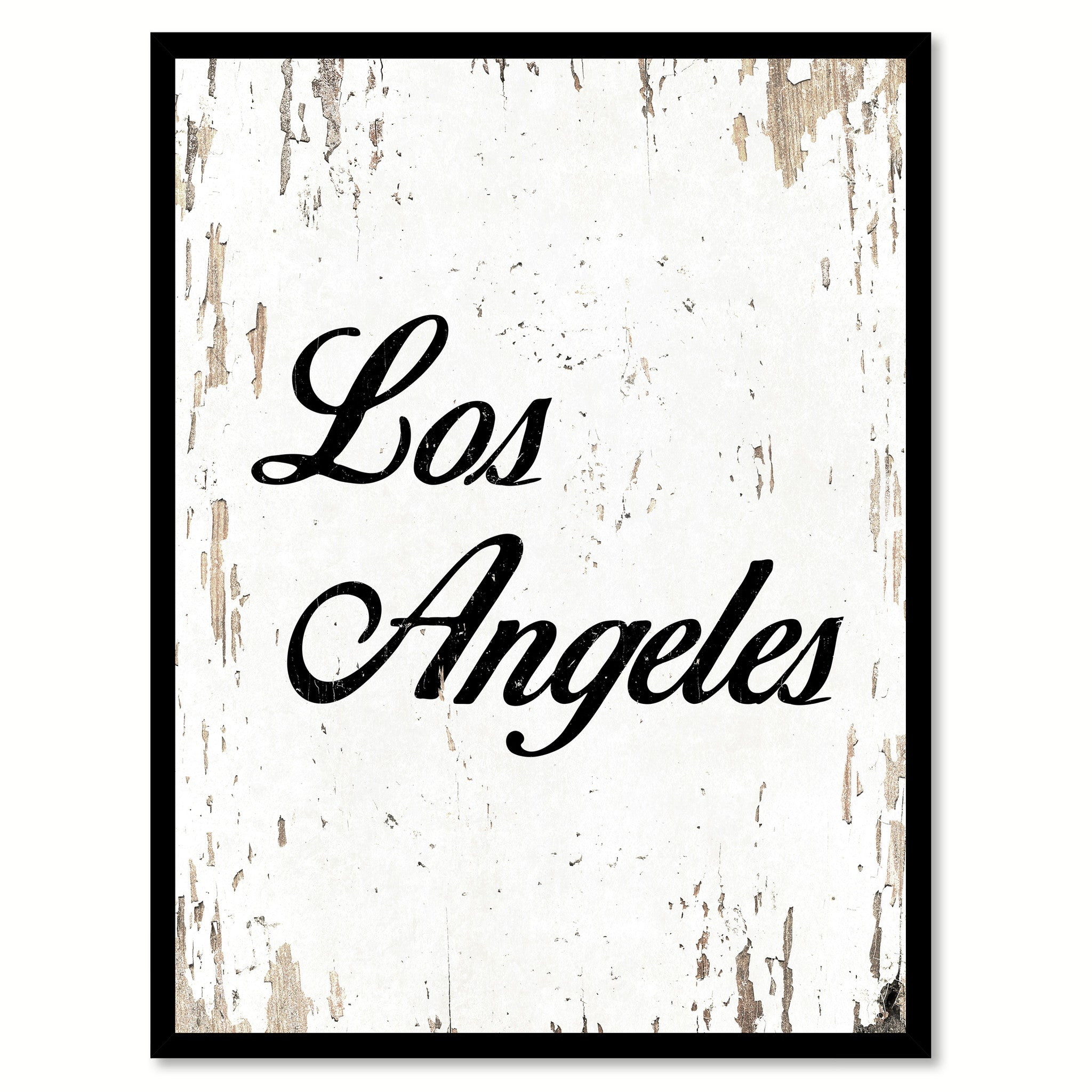 Los Angeles Country Vintage Flag Home Decor Gift Ideas Wall Art ...