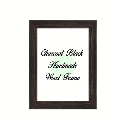Charcoal Black Wood Frame Wholesale Farmhouse Shabby Chic Picture Photo Poster Art Home Decor