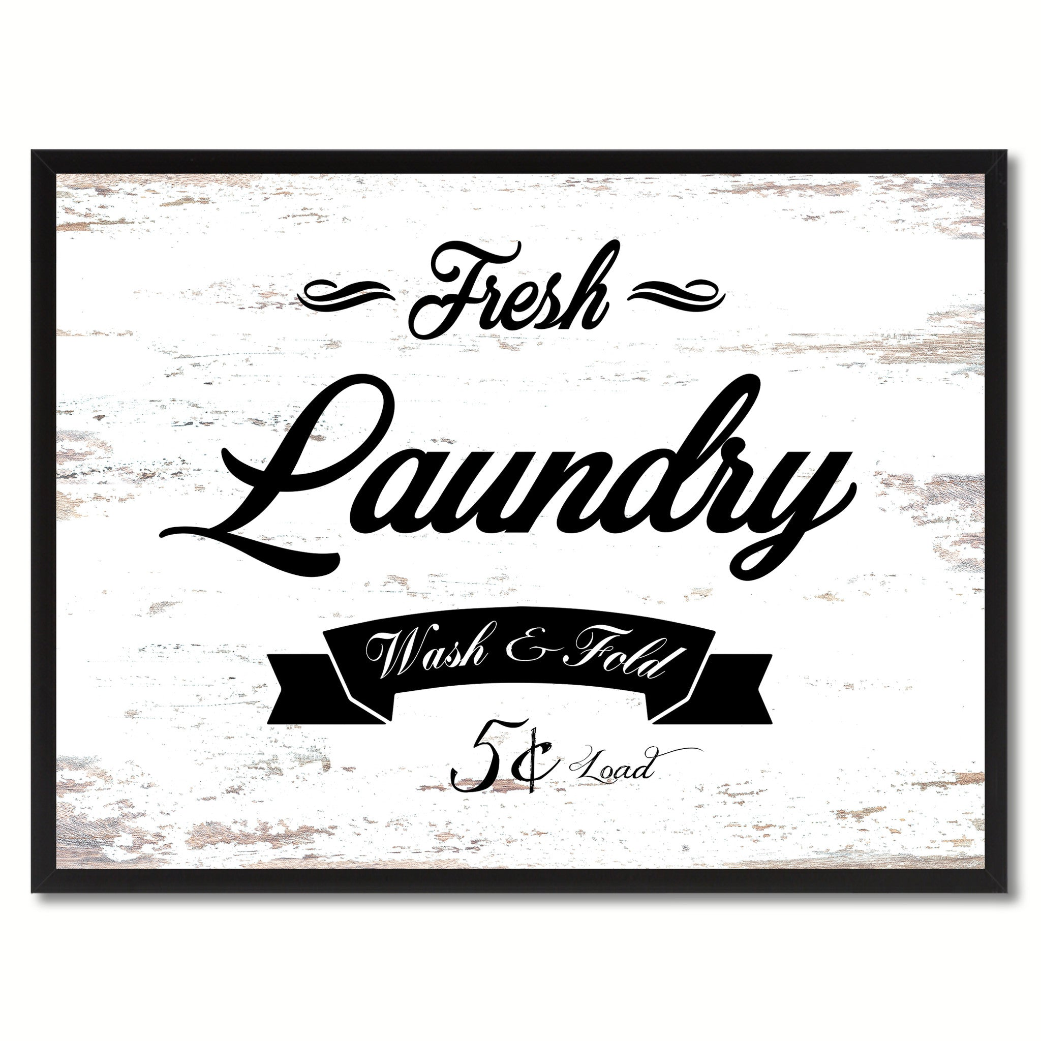 Fresh Home Decor Gift Ideas: Fresh Laundry Vintage Sign Home Decor Wall Art Gift Ideas