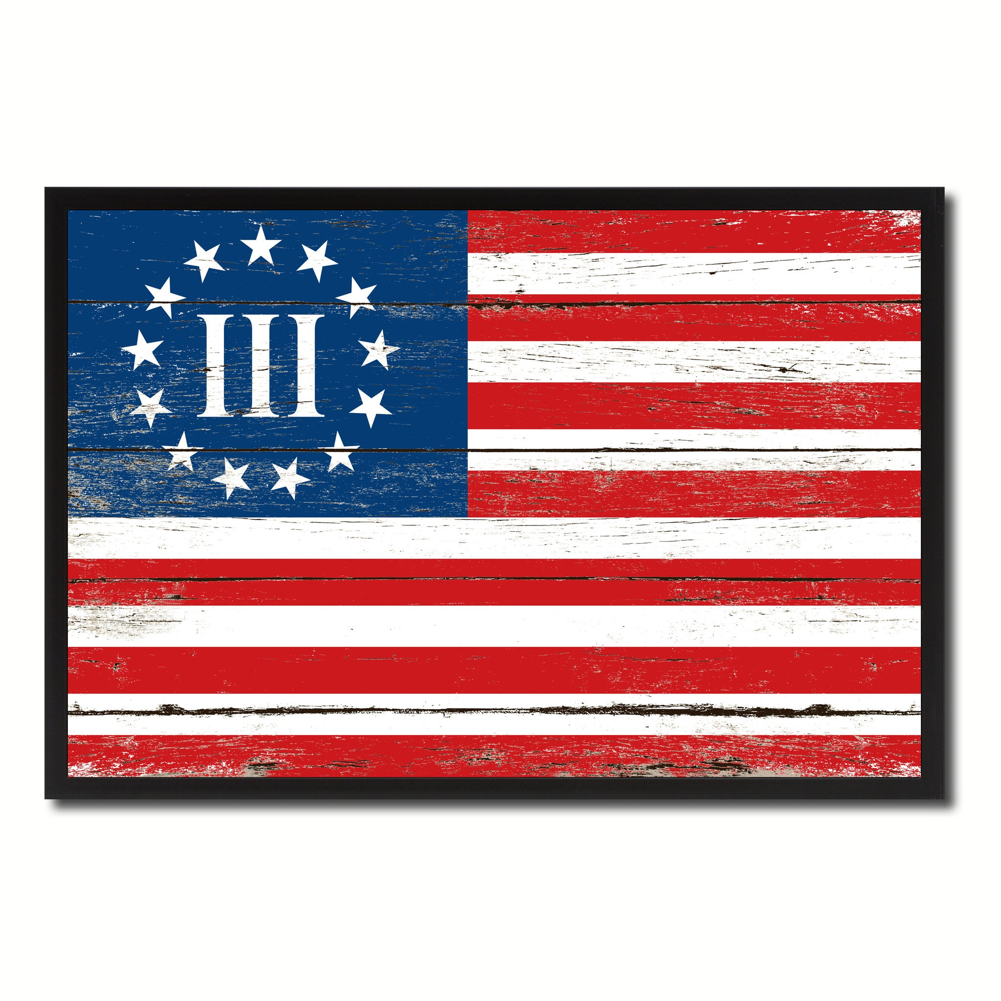 photograph regarding Betsy Ross Printable Pictures named 3 % Betsy Ross Nyberg Fight III Ground breaking War Army Flag Traditional Canvas Print with Imagine Body House Decor Gentleman Cave Wall Artwork