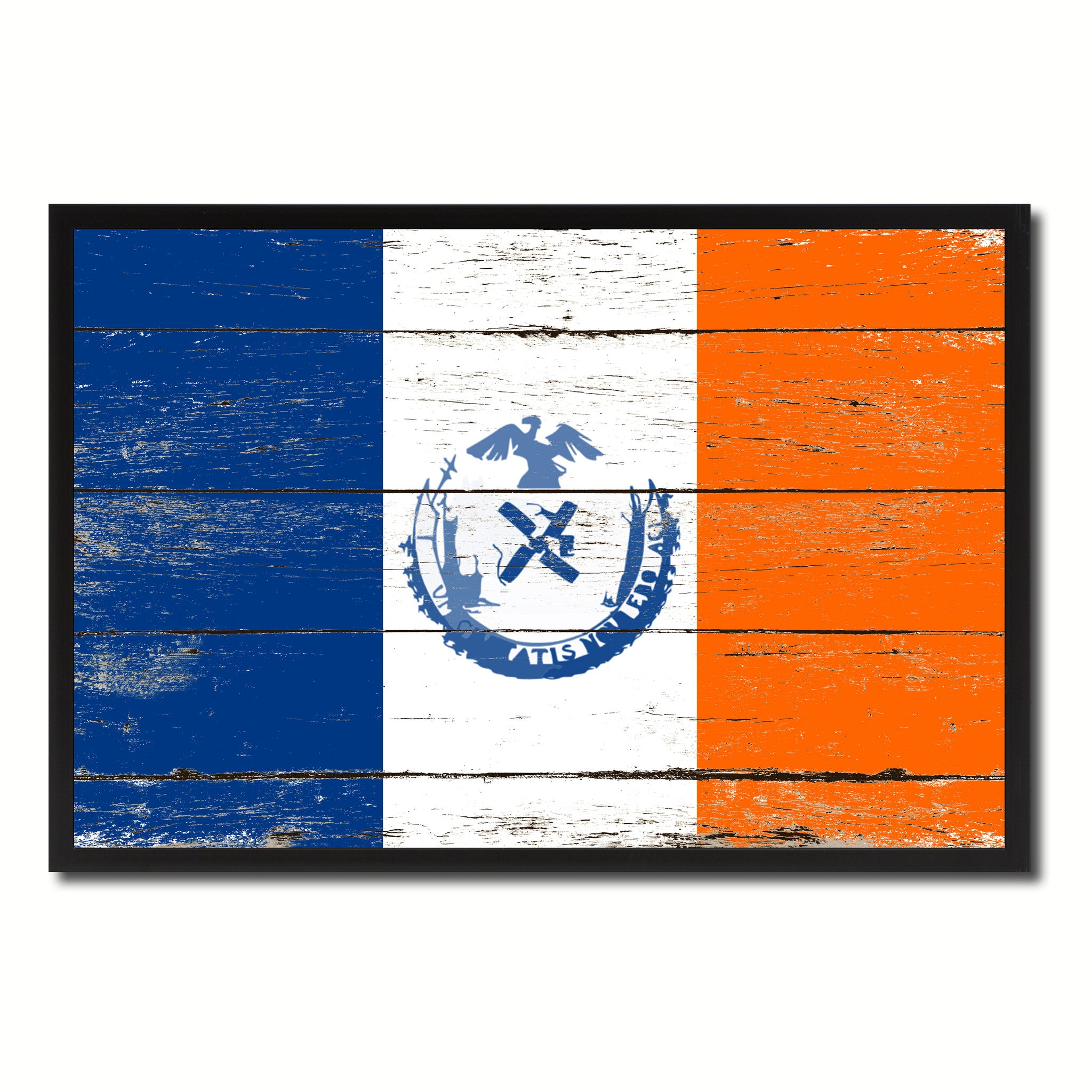 New York City State Vintage Flag Home Decor Office Wall Art Livingroom Gifts Decoration SpotColorArt