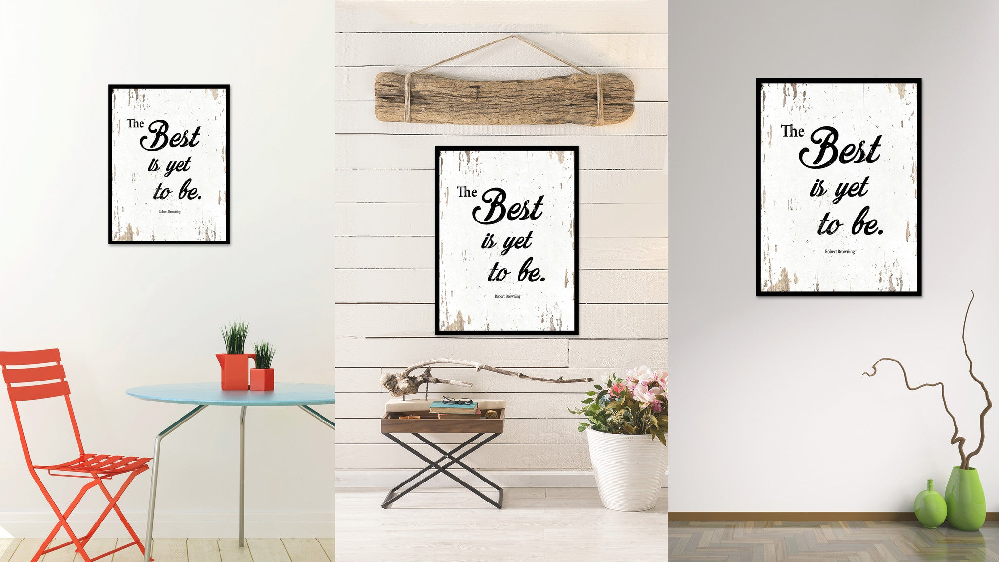 The Best Is Yet To Be Robert Browning Quote Saying Home Decor Wall Art Gift  Ideas