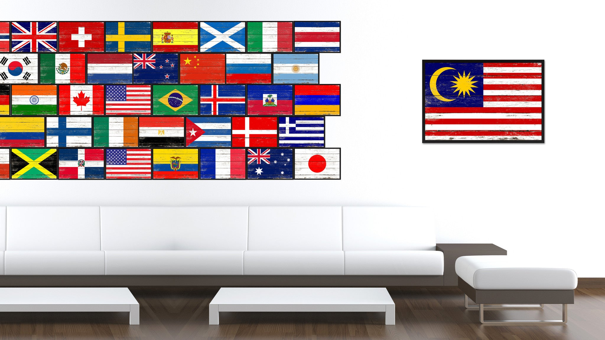 Malaysia Country National Flag Home Decor Gift Ideas Wall Bedroom ...