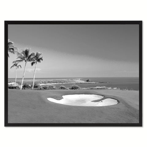 Vancouver Canada Golf Course Photo Wall Art Home Dcor Frame