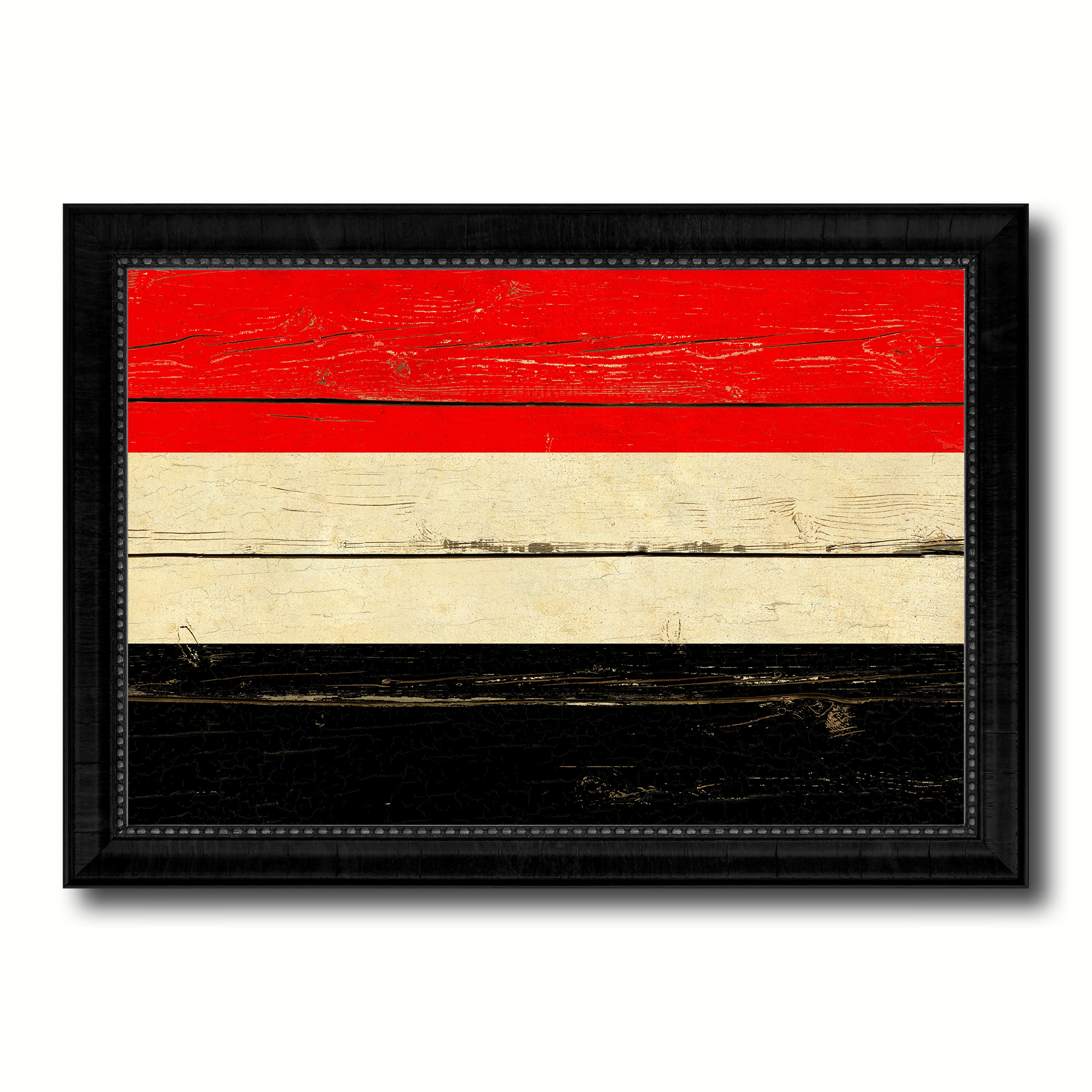 Yemen Country Vintage Flag Home Decor Gift Ideas Wall Art ...