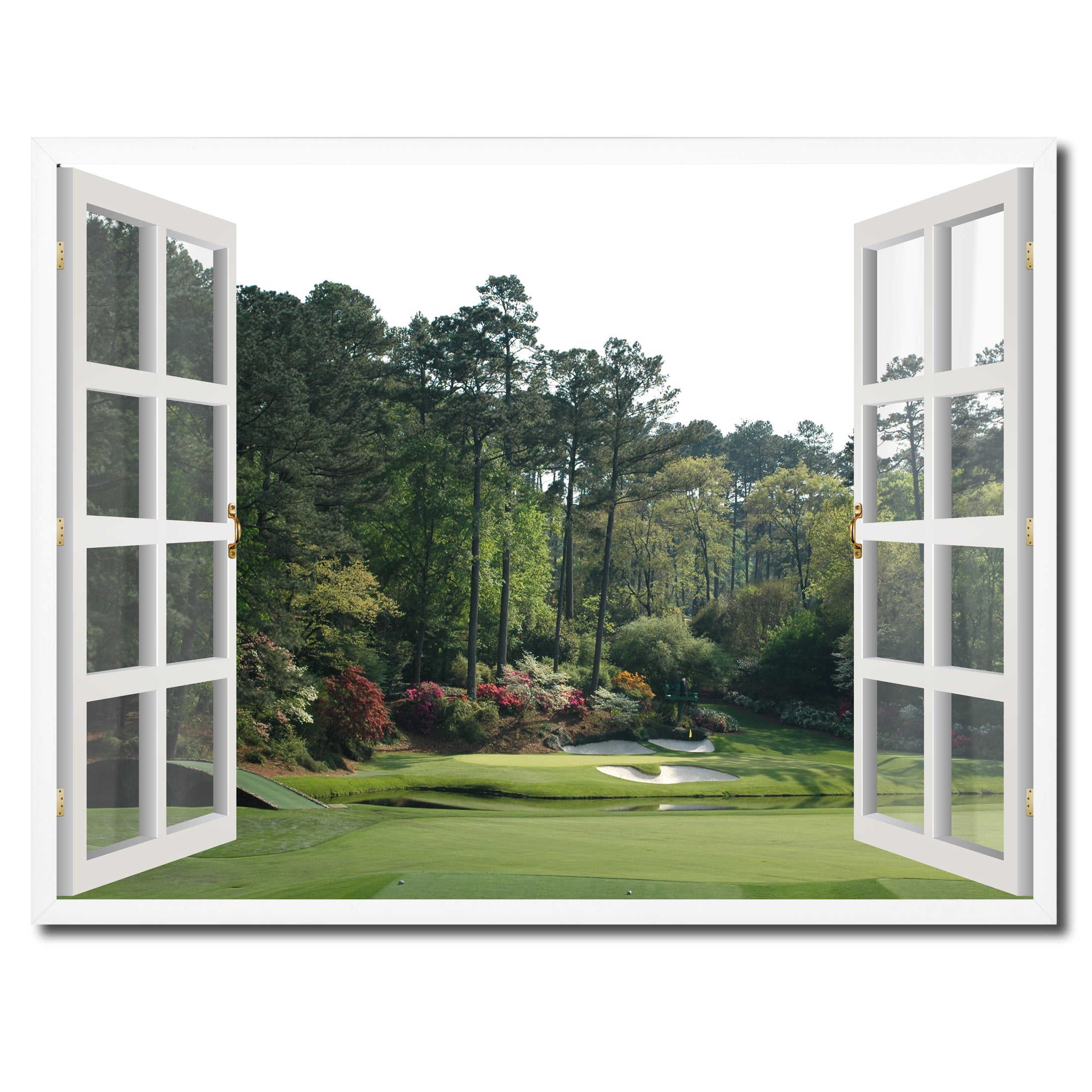 Masters Hole Augusta Picture Window Wall Art Home Decor Gift Ideas on kitchen valance ideas, kitchen door ideas, kitchen backsplash ideas, kitchen panel ideas, kitchen decorating ideas, kitchen bar ideas, kitchen railing ideas, master bedroom ideas, pass through kitchen remodel ideas, kitchen counter ideas, kitchen tree ideas, kitchen garden windows home depot, kitchen wood ideas, kitchen electrical ideas, kitchen flooring ideas, kitchen skylight ideas, kitchen tools ideas, kitchen bay windows, kitchen plate ideas, kitchen stove ideas,
