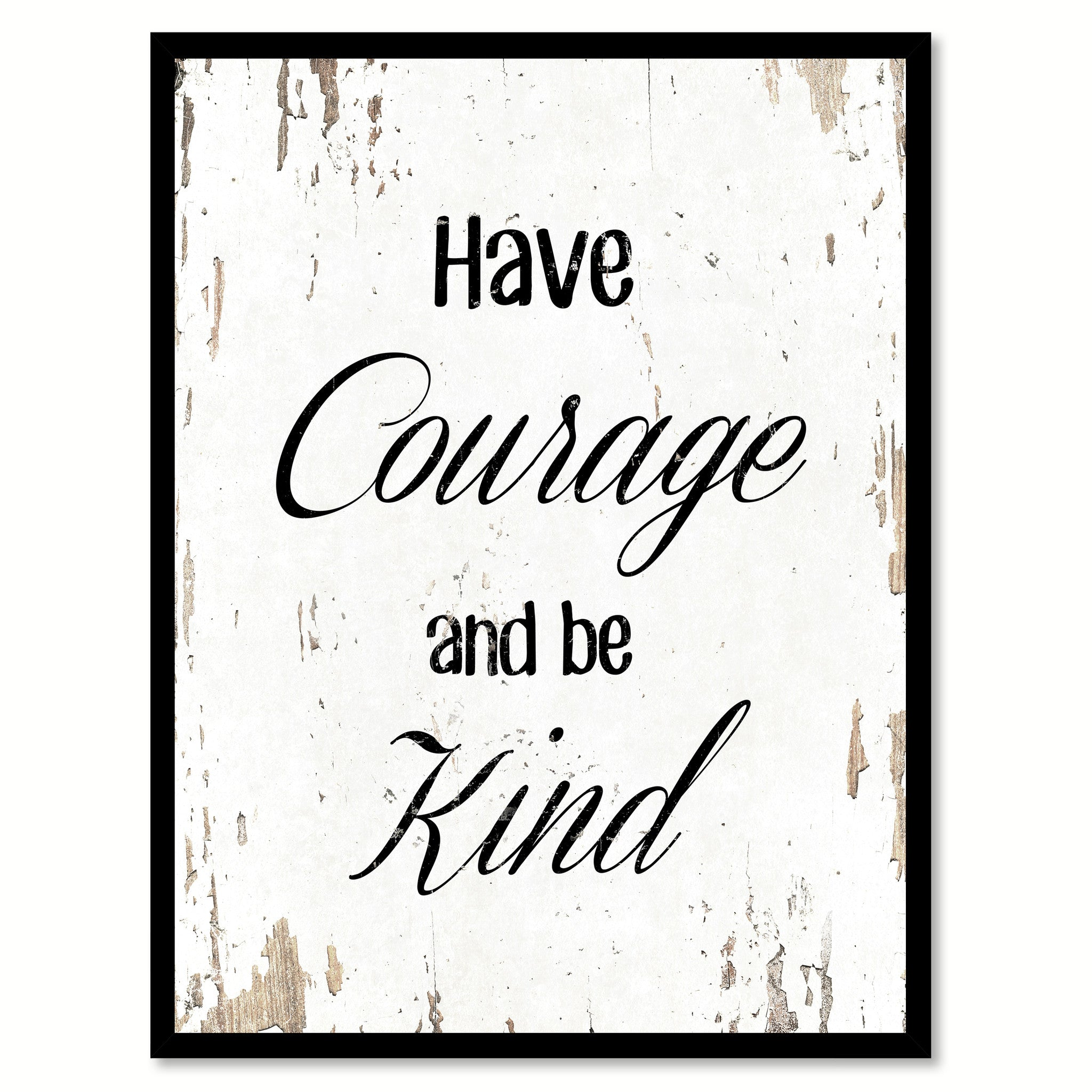 office motivation ideas. Have Courage And Be Kind Motivation Quote Saying Gift Ideas Home Decor Wall Art 111514 Office
