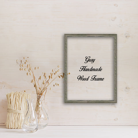 Gray Barn Wood Shabby Chic Decor Distressed Perfect for Picture Photo Poster Canvas Wedding Art Artwork Handmade Frame Beach Decoration