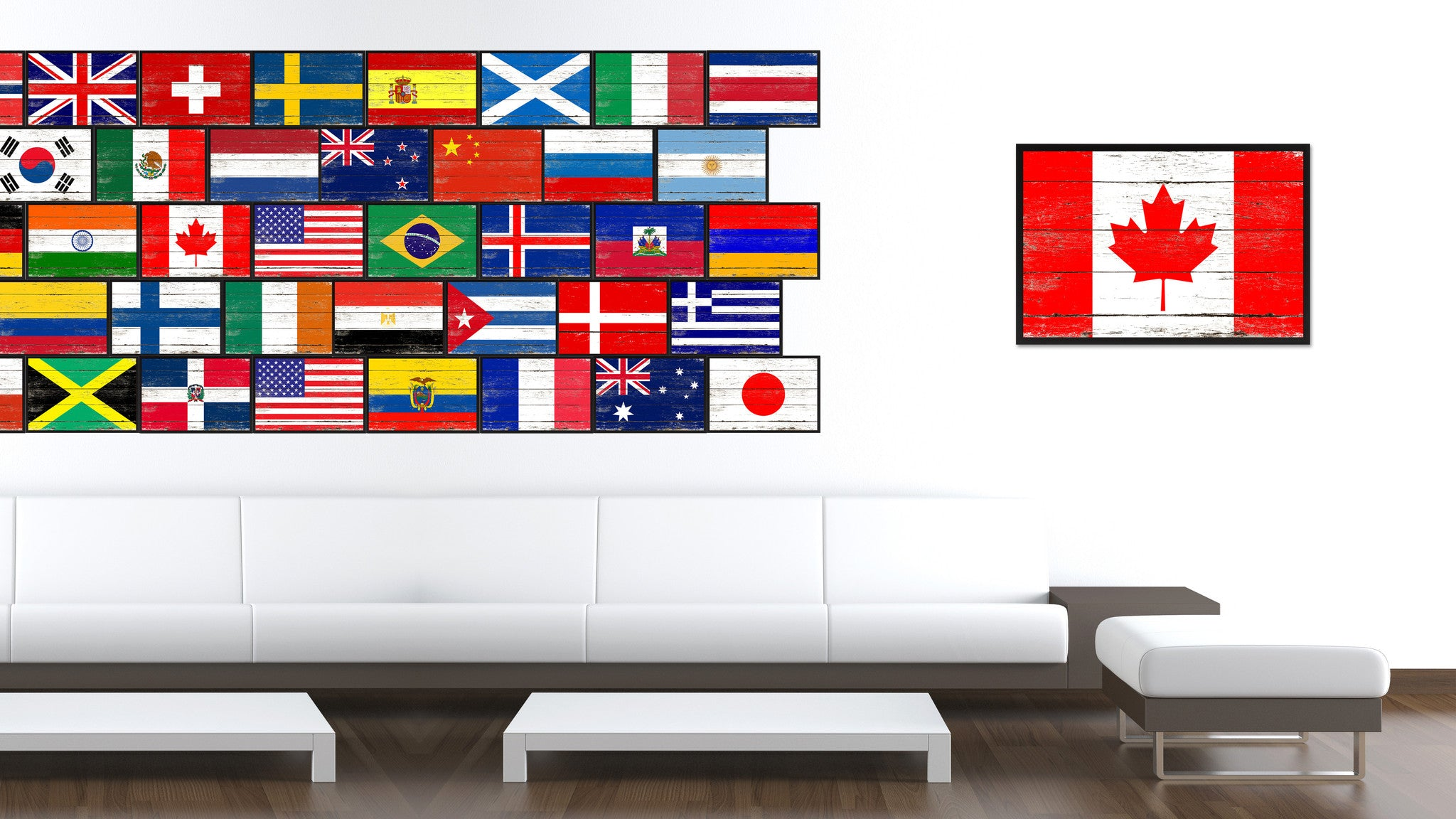 Canada Country National Flag Home Decor Gift Ideas Wall Bedroom ...