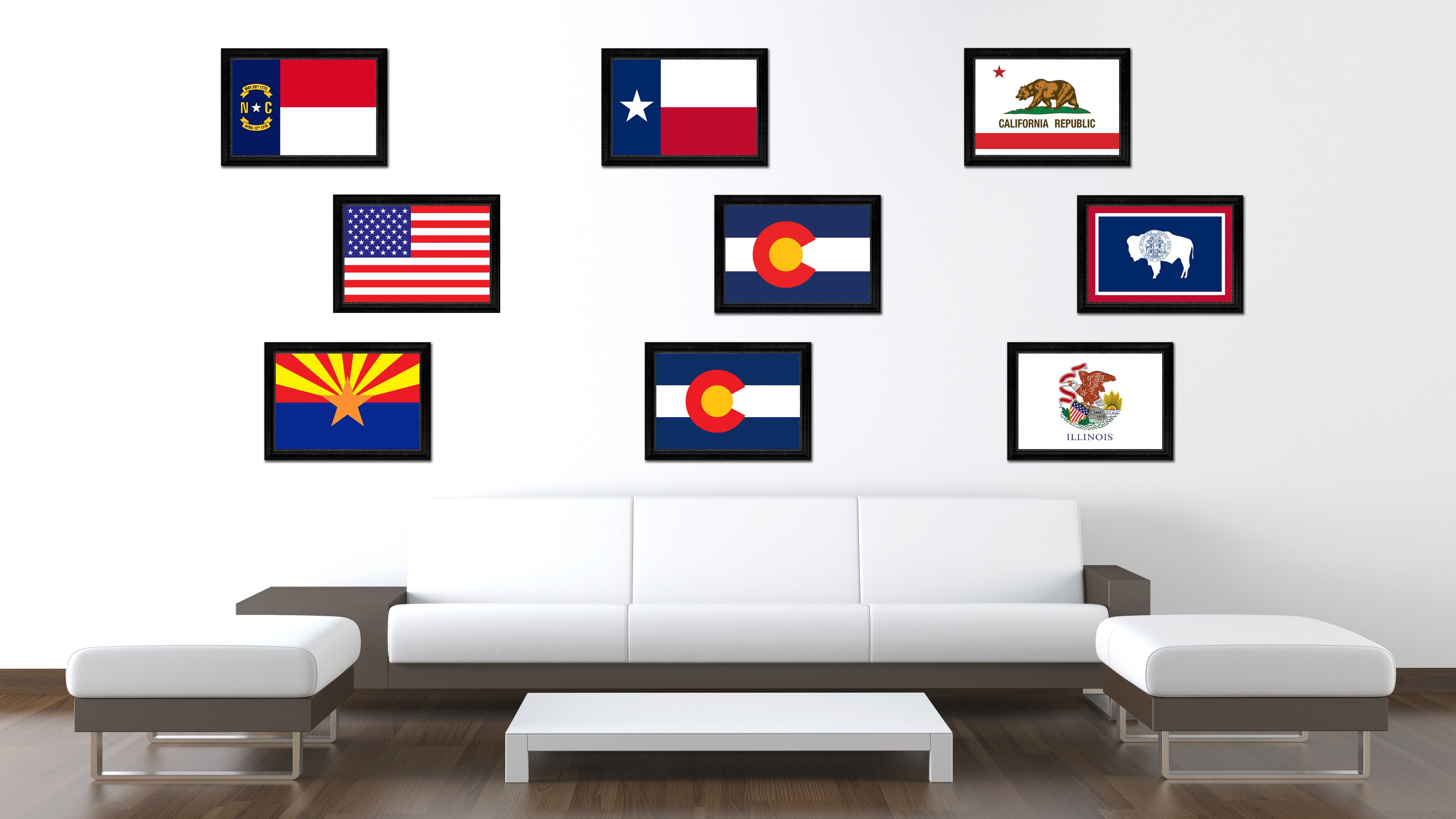 Interior Design Gifts Colorado State Flag Home Decor Office Wall Art Livingroom