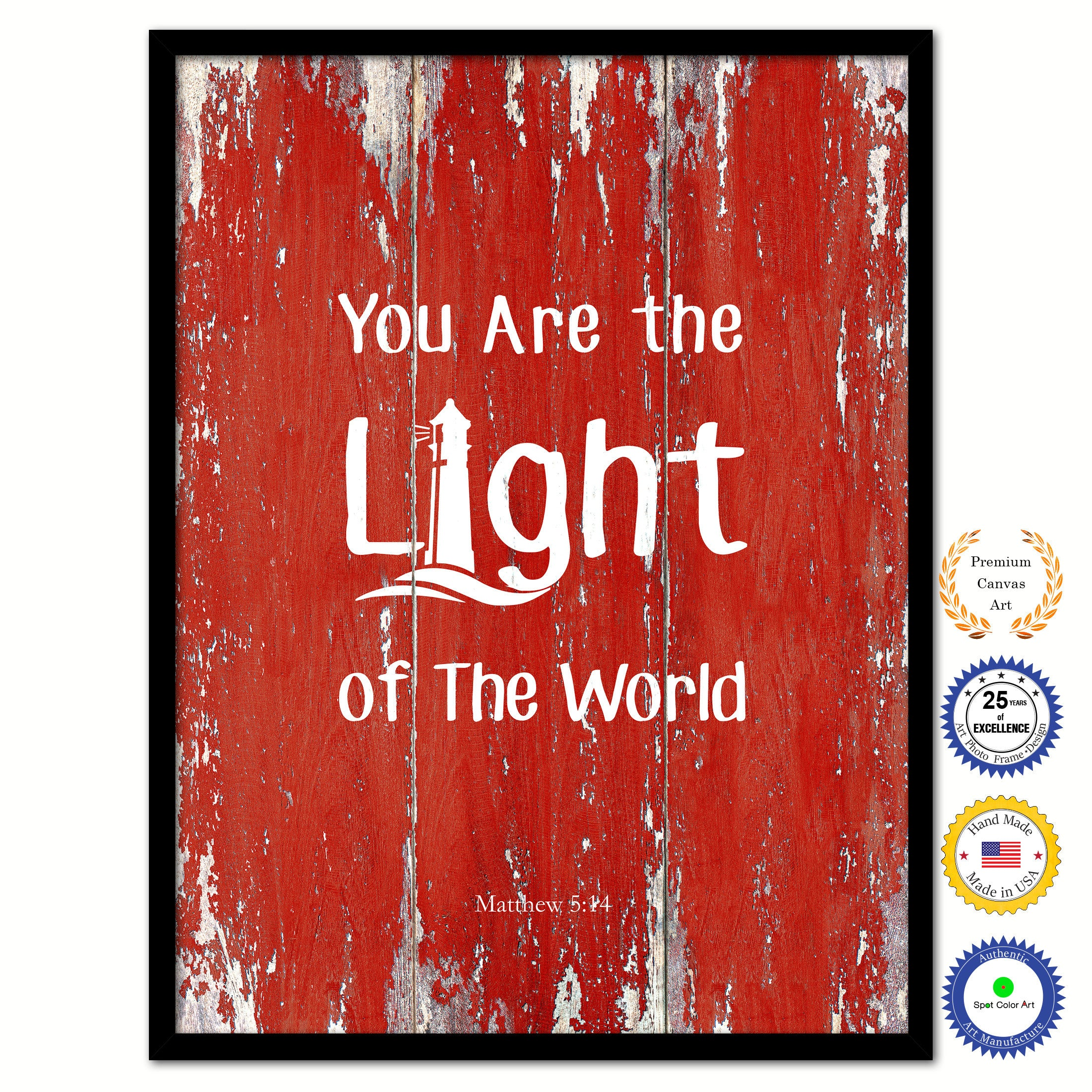You Are The Light Of The World Matthew 514 Inspirational Bible