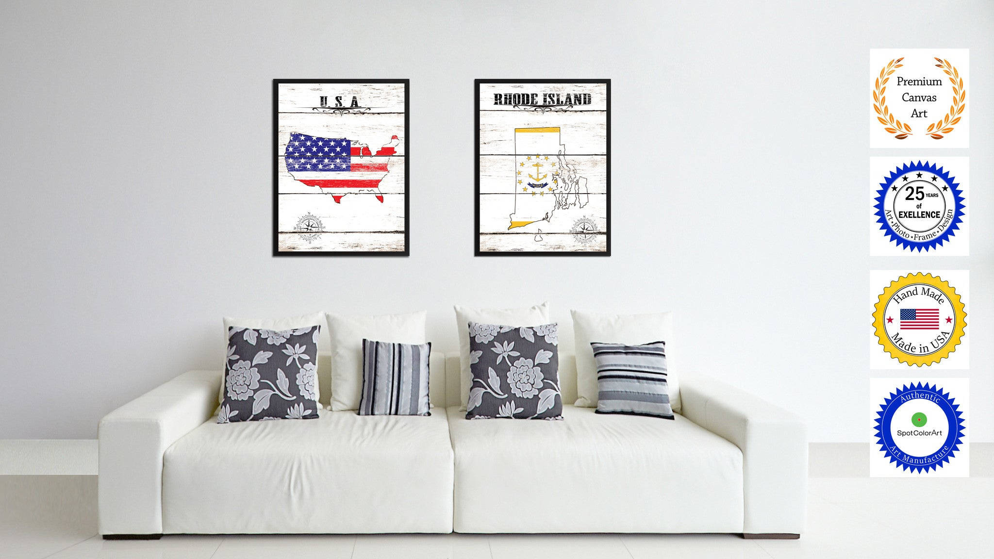 Rhode island state home decor office wall art decoration for Room decor gift ideas