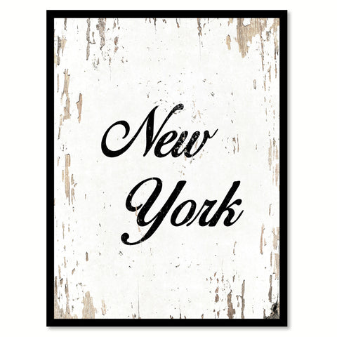 Fresh Toilet & Wash Vintage Sign White Canvas Print Home Decor Wall Art Gifts Picture Frames