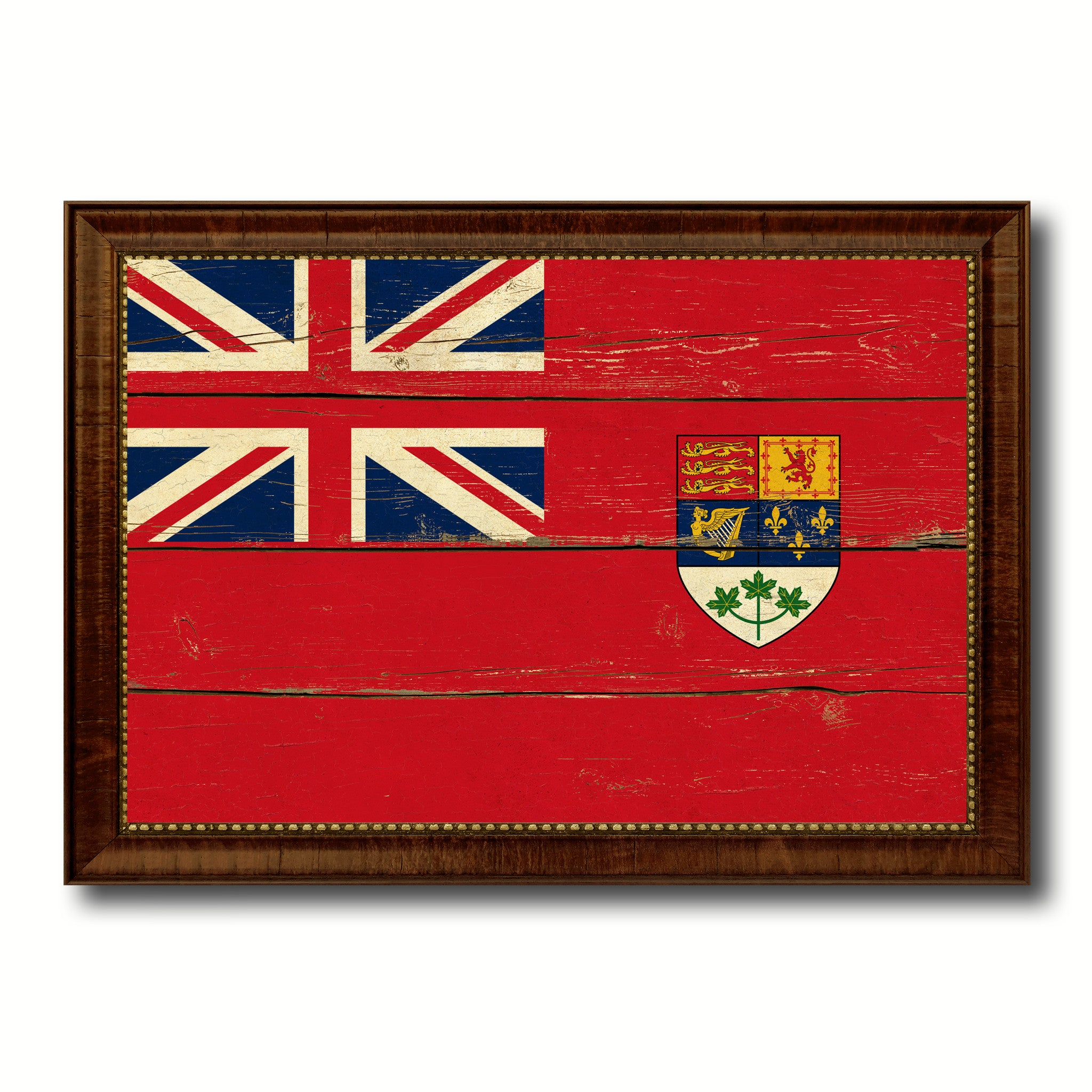 british columbia province city canada country vintage flag home