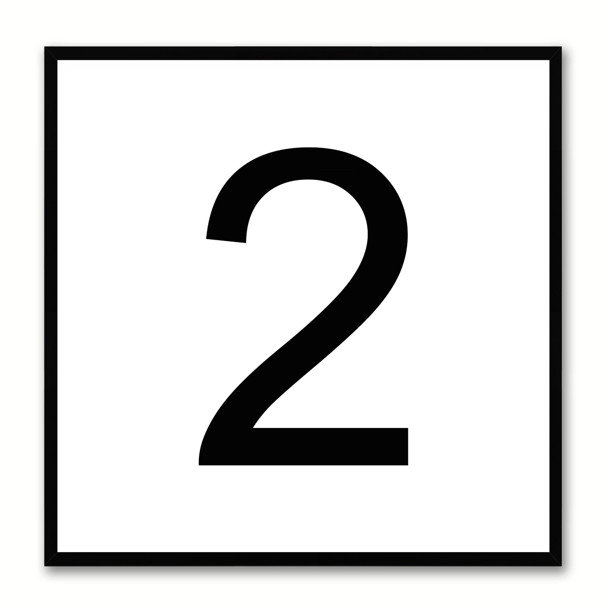 number two kids bedroom gift decorative wall art room home décor